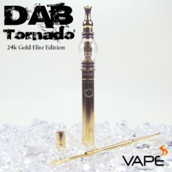 The Dab Tornado 2 Elite - 24k Gold Vape Pen / Dab Pen