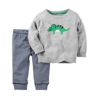Carter'S Boys 2-Pc. Long Sleeve Pant Set-Baby - JCPenney