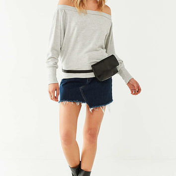 Project Social T Off-The-Shoulder Fleece Top | Urban Outfitters