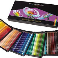 150 Prismacolor pencils premier colored pencils for adult coloring books - Prismacolor colored pencils in storage case - coloring pencils