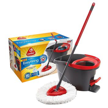 O-Cedar Easy Wring Spin Mop and Bucket : Target