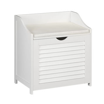 Single-Load Cabinet Hamper Seat
