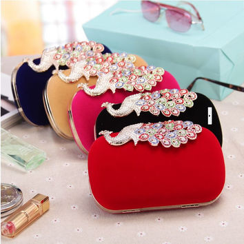 Evening bags purse clutch evening bags shoulder bag for wedding
