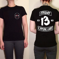 Friday The 13th Horror Movie Motorcycle Biker Cuts Shirt