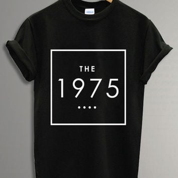 New - The 1975 Band UK Tour 2014 Tee Shirt Black and White For Men and Women Unisex Size - Code A