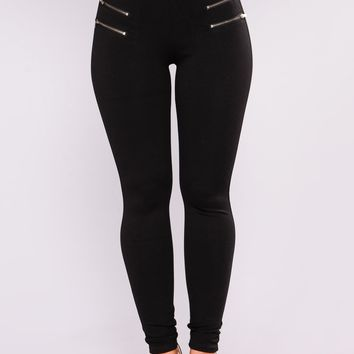 Teresa Ponte Leggings - Black