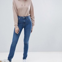 Weekday Thursday High Waist Waist Skinny Jean at asos.com