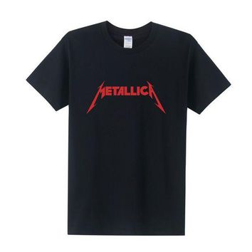 PEAPYV3 Fashion Rock Metallica t shirt men Cotton O-Neck Tees Shirts for couple Hip Hop Rock shirts tees Free Shipping OT-024