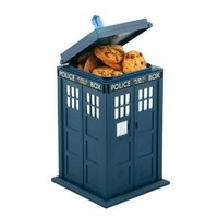 Doctor Who Tardis Cookie Jar Lights & Sounds