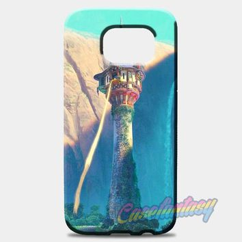Tangled Starts With The Sun Samsung Galaxy S8 Case