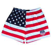 USA Revolution American Flag Rugby Shorts