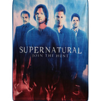 Supernatural Trio Plush Throw