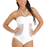 Seafolly Concert on the Shore One-Piece Swimsuit