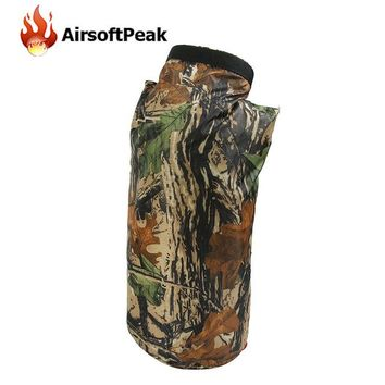 Swimming Pool beach AIRSOFTPEAK 8L Bionic Camoflage Outdoor Dry Bag Swimming Bag Foldable EDC Pouch Waterproof Drifting Floating Accessories BagSwimming Pool beach KO_14_1
