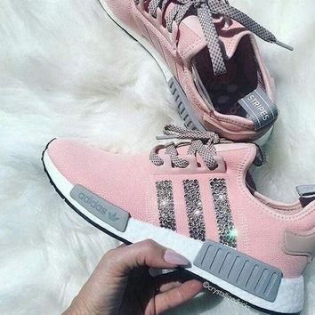 Adidas NMD NMD_R1 W Glittering Breathable Running Sports Shoes Sneakers-5