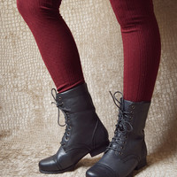 FLEECE LINED COMBAT BOOT