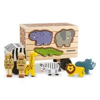 Toddler Melissa & Doug 'Animal Rescue' Personalized Shape Sorting Wooden Truck Toy