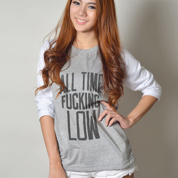 All Time Low Graphic Baseball Tee