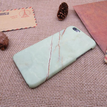 Simple fashion marble phone case for iphone 5 5s SE 6 6s 6 plus 6s plus + Nice gift box 072601