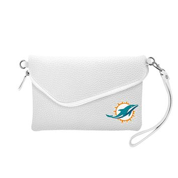 Miami Dolphins Tailgate Pebble Purse