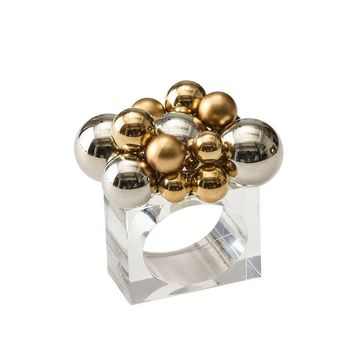 Bauble Napkin Rings S/4
