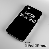 Led Zeppelin Rock Band A0131 iPhone 4 4S 5 5S 5C 6, iPod Touch 4 5 Cases