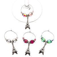 Paris Drink Glass Charms - Special Release