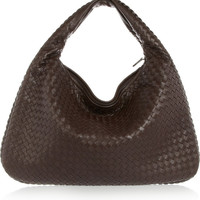 Bottega Veneta - Veneta large intrecciato leather shoulder bag