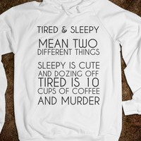 TIRED VS SLEEPY