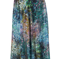 Blurry Floral Maxi Skirt - Skirts - Clothing - Topshop USA