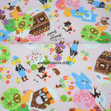 Japanese Fabric Fairy tales