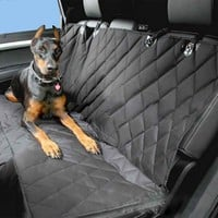Car Pet Seat Covers Waterproof Back Bench Seat 600D Oxford Car Interior Travel Accessories Car Seat Covers Mat for Pets Dog