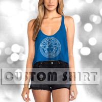 logo woman stylist Women Crop Tank -144 Tanktop For Men  / Custom - Tanktop / Men Tanktop