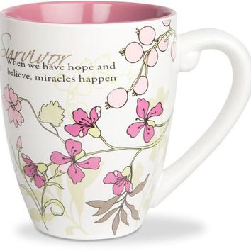 Survivor.. When we have hope and believe, miracles happen Coffee Mug