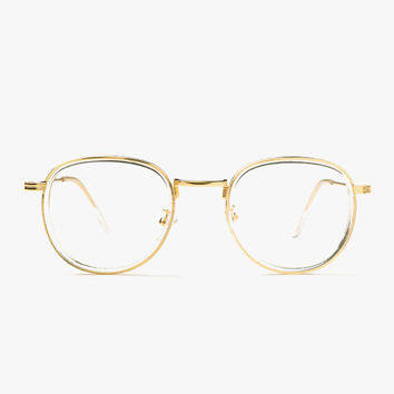 Retro Clear Frame Glasses