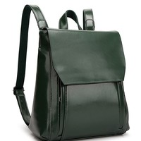 The Perfect Retro Backpack | Green