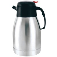 BRENTWOOD CTS-1200 1.2 Liter Vacuum Coffee Pot, Stainless Steel