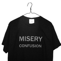 shopwithasianstereotypes: MISERY CONFUSION T-SHIRT