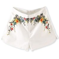 All-matching Floral Shorts - OASAP.com