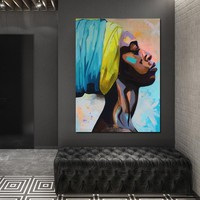 2018 Abstract Paintings Of African Black Women Art Abstract Pictures Canvas Painting Figure Picture Wall Art Prints Posters