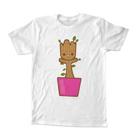 baby groot dancing For T-Shirt Unisex Adults size S-2XL