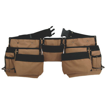 76425 - 11 Pocket Carpenter's Tool Belt in Polyester