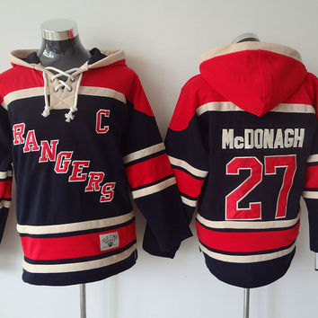 New York Rangers - RYAN MCDONAGH #27 Vintage NHL Sweatshirt