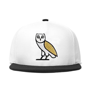 WHITE OWL SNAPBACK CAP | October's Very Own