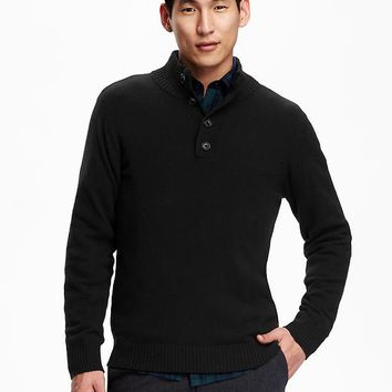 Old Navy Mens Mock Neck Sweater