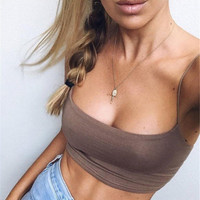 2017 Summer Casual Two piece Set Outfits Strappy Sexy Satin Crop Top Bralette and Skirt Women's Sets Summer Female