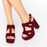New Look Wide Fit Platform Sandals