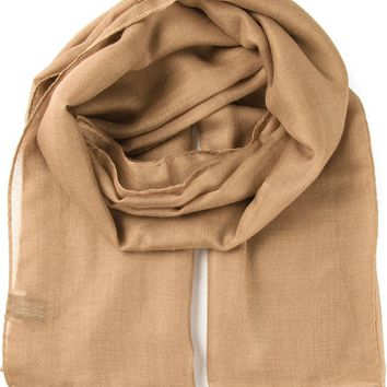 Saint Laurent lightweight scarf