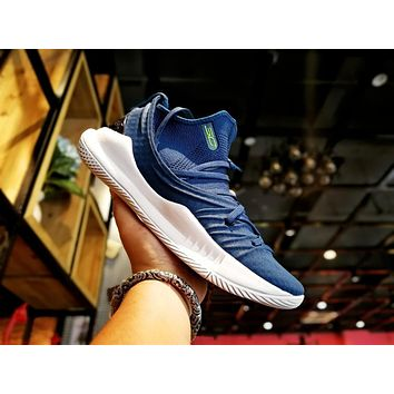 Under Armour Ua Curry 5 Blue/white Basketball Shoe   Best Deal Online