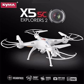 Original Syma X5 X5C X5C-1 Explorers 6 Axis 4CH New Version RC Quadcopter Mode 2 Without Camera Transmitter BNF